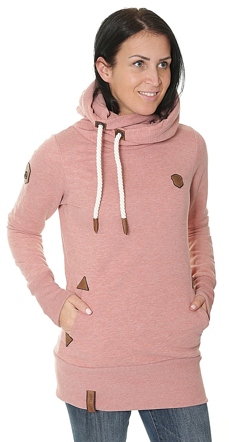 sweatshirt Naketano Darth Long IX - Foggy Rose Melange