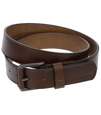 pásek Billabong Curva Leather - Chocolate - snowboard-online.cz 34534bdc098