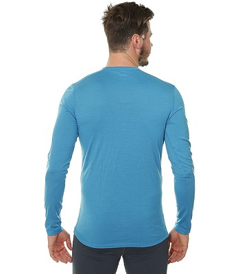 2ac0bd4ff tričko Husky Merino LS - Blue | blackcomb.sk