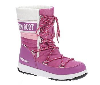 e15f031d2125f Snehule · Tecnica. dievčenské. detské topánky Tecnica Moon Boot W.E.  Quilted - Orchid/Pink/White