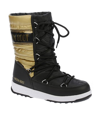 detské topánky Tecnica Moon Boot W.E. Quilted Met - Black Gold ... 1dc81c174d