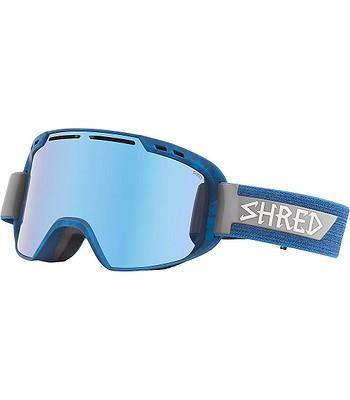 okuliare Shred Amazify - Brushed Royal Brushed Navy Blue - snowboard ... a2cf367b127