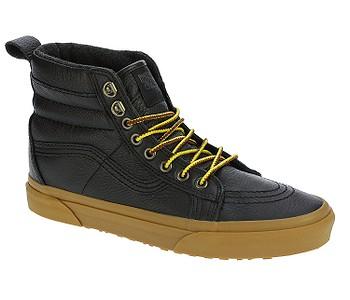 boty Vans Sk8-Hi MTE - MTE Black Leather Gum - boty-boty.cz - doprava zdarma 41571675fe