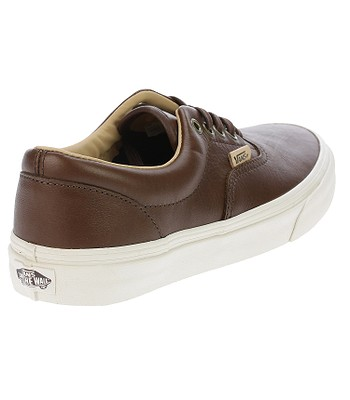 c167adf50c8 shoes Vans Era - Lux Leather Shaved Chocolate Porcini - blackcomb ...