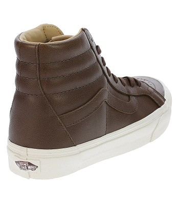 02c795ac45 shoes Vans Sk8-Hi Reissue - Lux Leather Shaved Chocolate Porcini. IN STOCK  ‐ by 28. 11. at your home -20%
