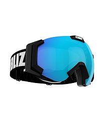 b43229779 okuliare Bliz Carver SR OTG - 32106-14/Matt Black/Light Orange/