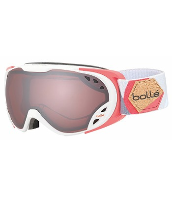 okuliare Bollé Duchess - White   Coral Vermillon Gun - snowboard ... 58bf2c004eb