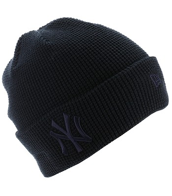a18156b3ed4 cap New Era Essential Waffle Knit MLB New York Yankees - Navy ...