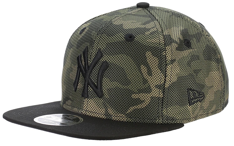 7bf52165d0a ... shop cap new era 9fi mesh overlay 9fifty mlb new york yankees woodland  camo black blackcomb