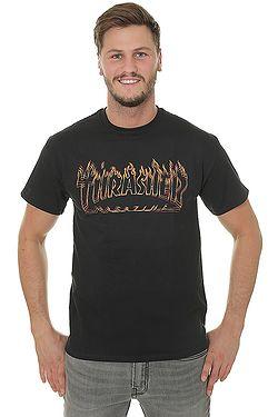 T-Shirt Thrasher Richter - Black