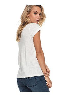 d6a819a592 ... tričko Roxy Bobby Twist Essential - WBT0 Marshmellow