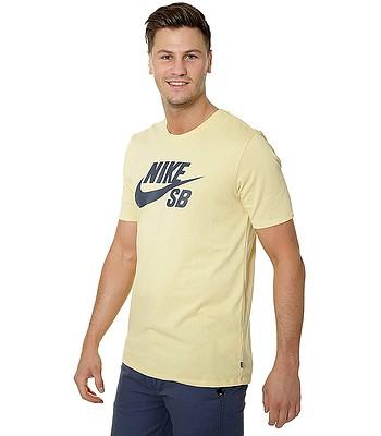 tričko Nike SB Logo - 721 Lemon Wash Thunder Blue - snowboard-online.sk 7670434cf5