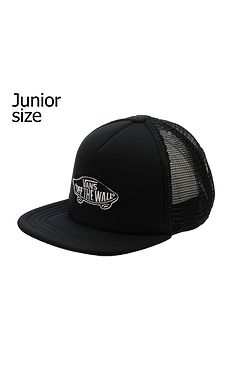 650b8919109 kšiltovka Vans Classic Patch Trucker Youth - Black Black