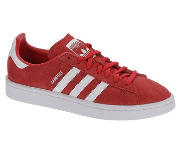 a805d990c6 TOPÁNKY ADIDAS ORIGINALS CAMPUS - RAY RED WHITE WHITE - skate-online.sk