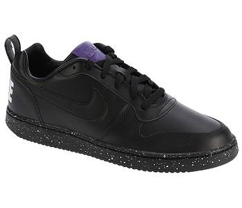 boty Nike Court Borough Low SE - Black Black White Court Purple ... fcb2dffb029
