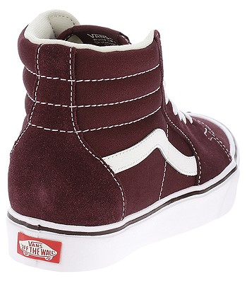 09cac92ded6d7d shoes Vans Sk8-Hi Lite - Suede Canvas Port Royale True White. IN STOCK ‐ by  25. 4. at your home -20%