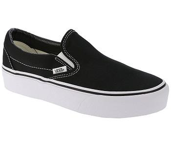 boty Vans Classic Slip-On Platform - Black