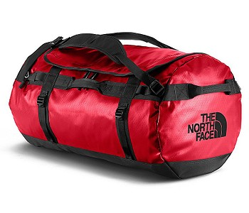 taška The North Face Base Camp Duffel L - TNF Red/TNF Black
