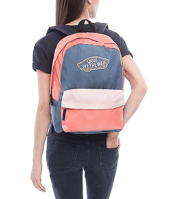 f36acbd40b4 backpack Vans Realm - Dark Slate Evening Sand Spiced Coral. No longer  available.