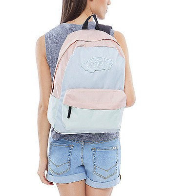 c71ca33f61a backpack Vans Realm - Baby Blue/Evening Sand/Ambrosia. No longer available.