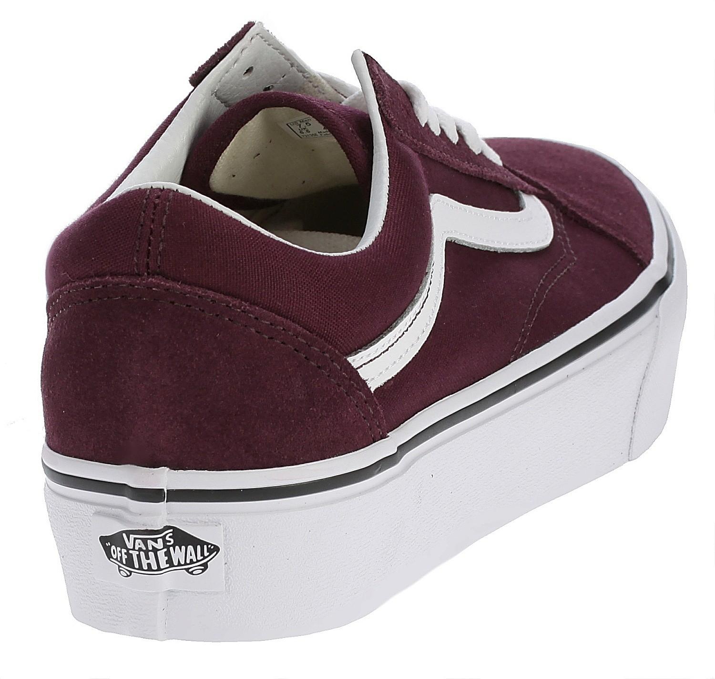 shoes Vans Old Skool Platform - Port