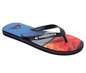 žabky Quiksilver Molokai Lava Division - XKRB/Black/Red/Blue