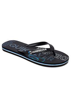 žabky Quiksilver Molokai Nitro - XKKB Black Black Blue 131f63fa309