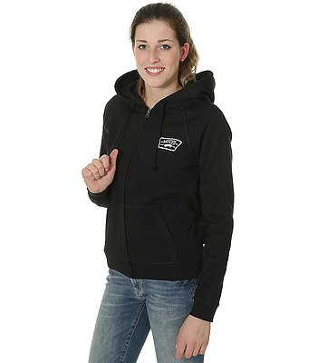 4ce1071752 sweatshirt Vans Full Patch Raglan Zip - Black - blackcomb-shop.eu