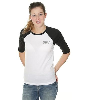 tričko Vans Full Patch Raglan - White Black - snowboard-online.cz 68a7a225cd
