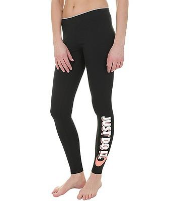 good selling discount popular stores leggings Nike Sportswear Just Do It Club - 010/Black/Light ...