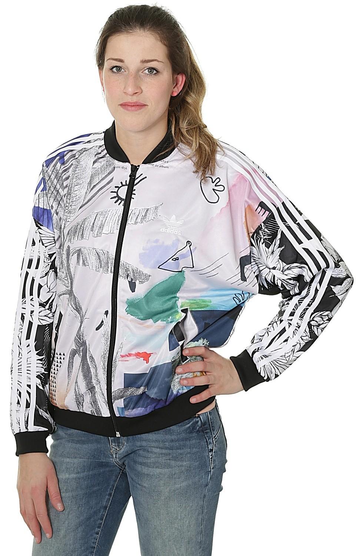 giacca adidas track top multicolore blackcomb originali gigante
