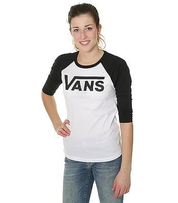 b1738690991 tričko Vans Flying V Raglan - White Black