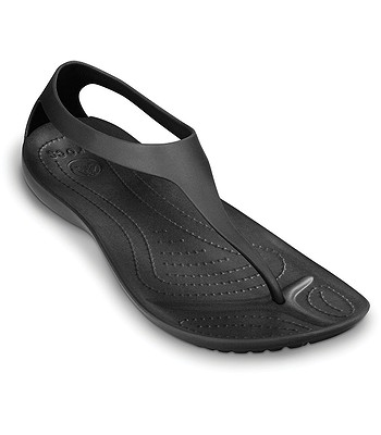 bf3e14241b0c boty Crocs Sexi Flip - Black Black