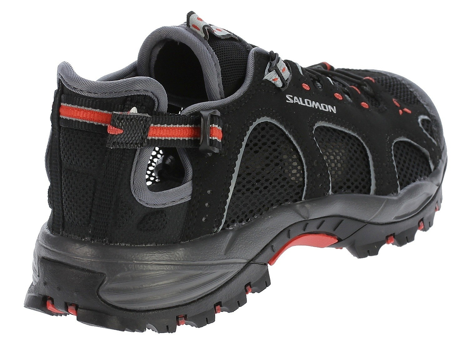 schuher Salomon Techamphibian 3 W BlackDark CloudPapaya