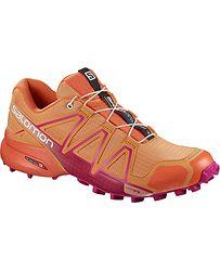 topánky Salomon Speedcross 4 W - Bird Of Paradise Nasturtium Pink Yarrow 5be639a2ca5