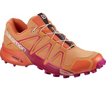 boty Salomon Speedcross 4 W - Bird Of Paradise Nasturtium Pink Yarrow - boty -boty.cz - doprava zdarma 73240e0df0