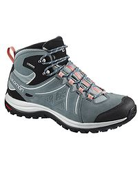 topánky Salomon Ellipse 2 Mid LTR GTX W - Lead Stormy Weather Coral Almond 82ee7c862dc