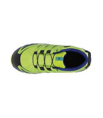 4e66a6b5364 dětské boty Salomon XA Pro 3D CSWP - Acid Lime Surf The Web Tropical Green