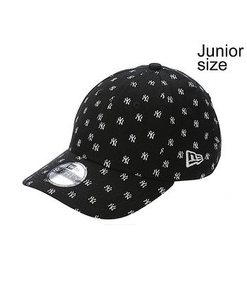 ac00ed01299 cap New Era 9FO Monogram 9Forty MLB New York Yankees Junior - Black White -  blackcomb-shop.eu