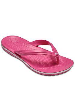 žabky Crocs Crocband Flip - Paradise Pink White ... e33230ea4d