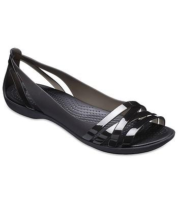 boty Crocs Isabella Huarache 2 Flat - Black Black  b10485f2fc