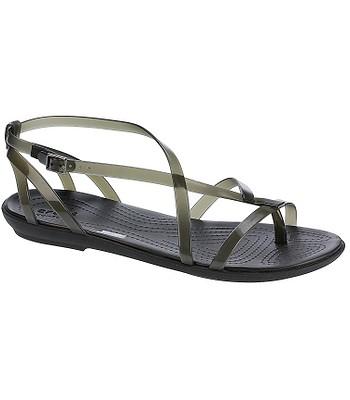 54bcf261b230 boty Crocs Isabella Gladiator - Black Black