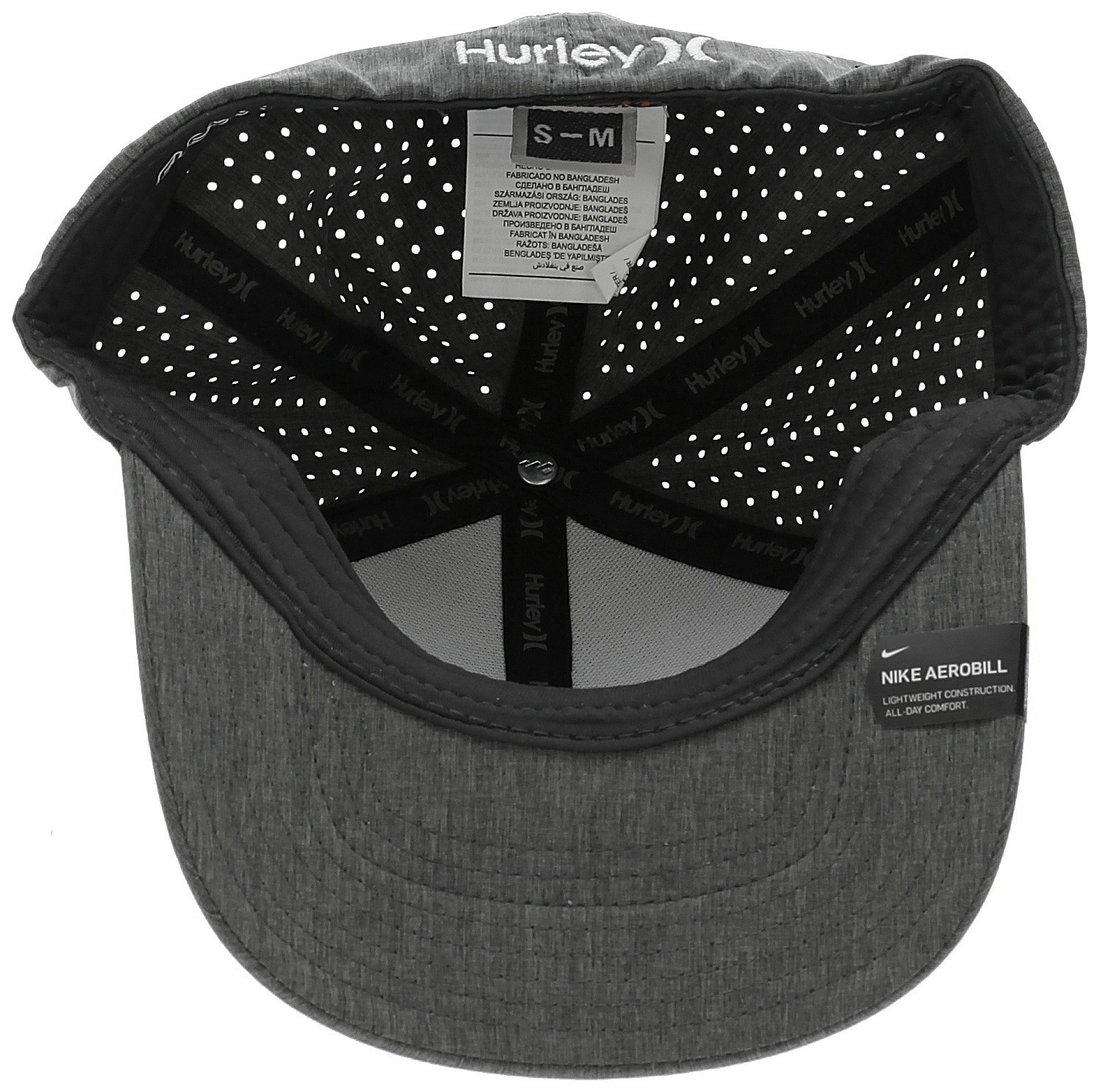 35f4dbc3e3b ... hot cap hurley phantom 4.0 flexfit 032 black heather white. no longer  available. 1a3c7