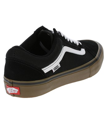 c74b3452b5 boty Vans Old Skool Pro - Black White Medium Gum. SKLADEM