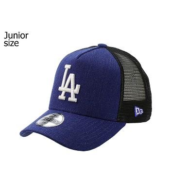 cap New Era 9FO Seasonal Trucker MLB Los Angeles Dodgers Child - Heather  Blue White 0e920d686fc