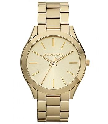 1c479dfec8 hodinky Michael Kors Slim Runway Gold Tone - Gold