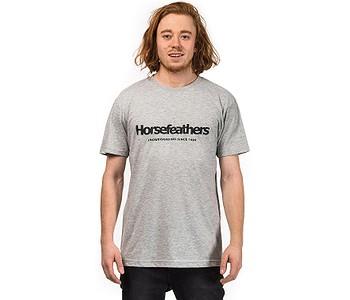 tričko Horsefeathers Quarter - Ash