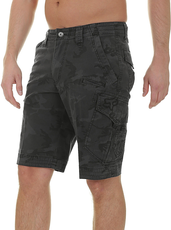 Fox Slambozo Tech Hybrid Cargo Shorts New Black