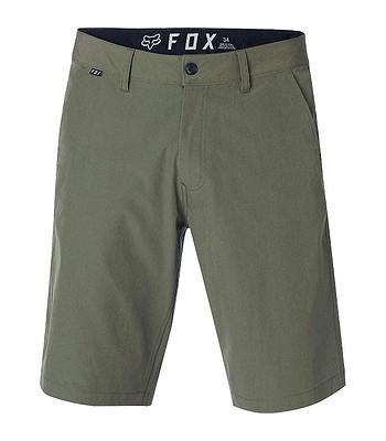 07ed57bb0e kraťasy Fox Essex Tech Stretch - Fatigue Green