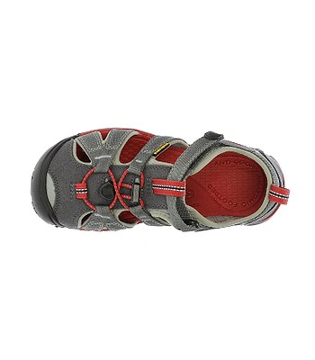 dětské boty Keen Seacamp II CNX - Magnet Racing Red  823659701a